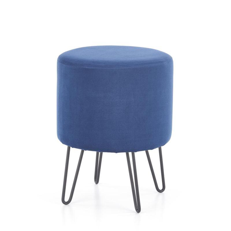 Пуфик Halmar KHEOPS (темно-синий) V-CH-KHEOPS-PUFA-GRANATOWY - фото 1