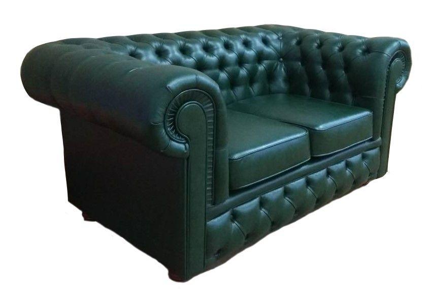 Диван Tiolly Честерфилд 2 (зеленый) - фото 1
