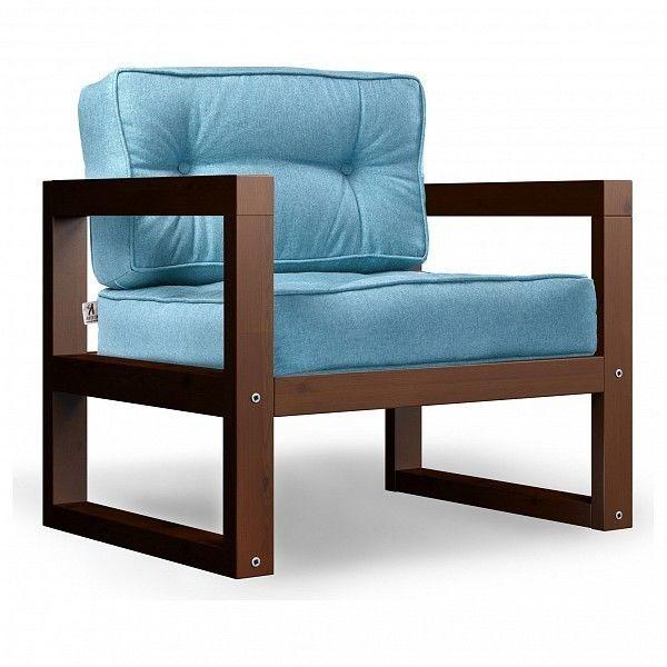 Кресло Anderson Астер AND_122set244, голубой - фото 1