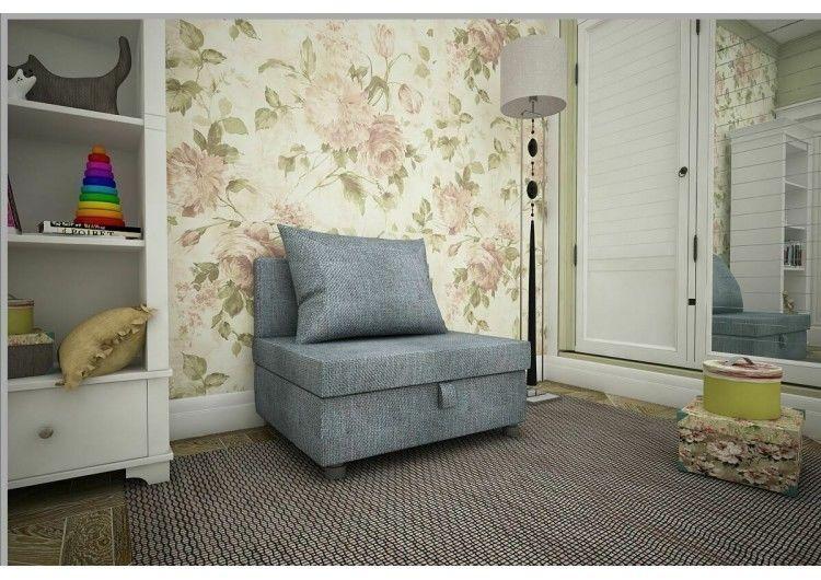 Кресло Раевская мебельная фабрика рогожка тёмно серая 00687 - фото 1
