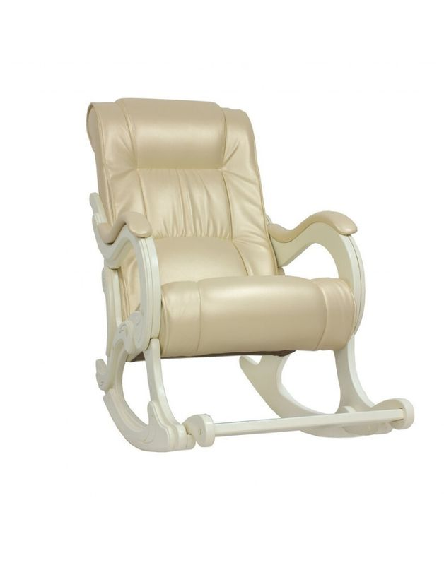 Кресло Impex Модель 77 сливочный Экокожа (oregon 106) - фото 1