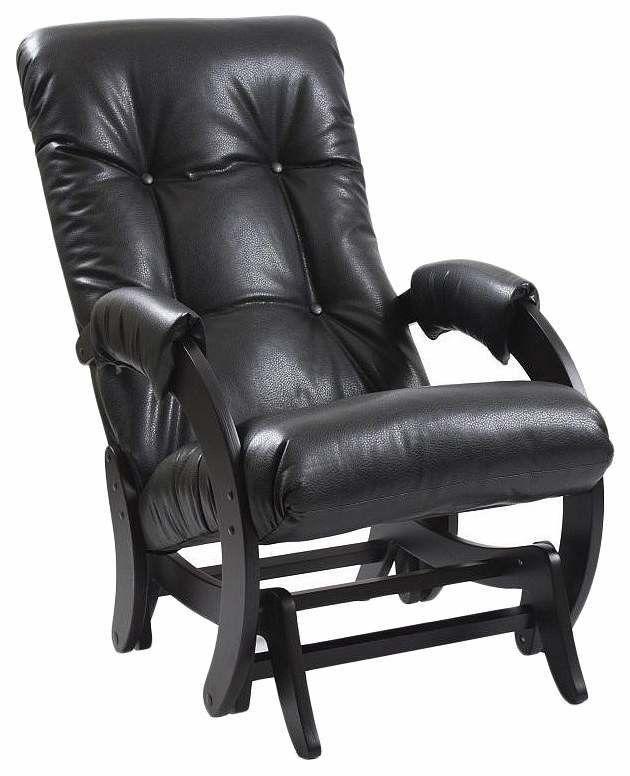 Кресло Комфорт (Impex) Модель 68 KMT_2000000032092, черный - фото 1