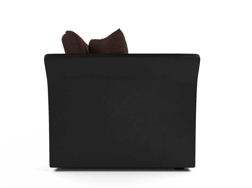 Диван Мебель-АРС Малютка №2 (рогожка шоколад) - фото 4