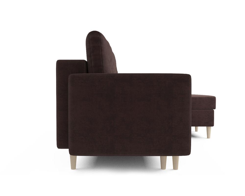 Диван Мебель-АРС Белфаст (велюр шоколадный / НВ-178/16) - фото 3