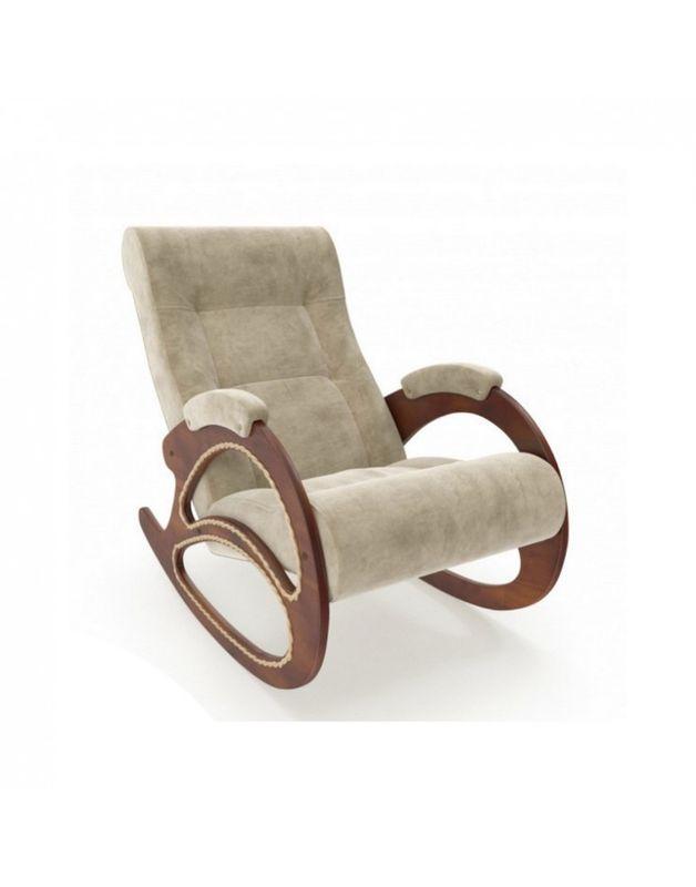 Кресло Impex Модель 4 Verona орех (Vanilla) - фото 5