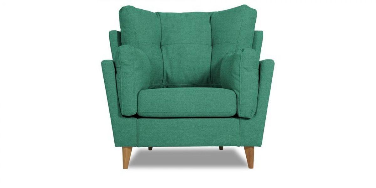 Кресло WOWIN Хюгге (Бирюзово-голубая микророгожка) - фото 2