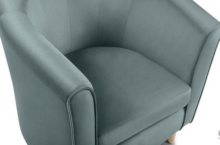 Кресло Woodcraft Лилла Barhat Mint - фото 3