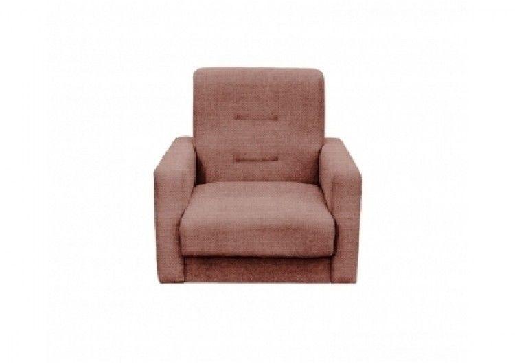 Кресло Луховицкая мебельная фабрика Лондон коричневая рогожка (120х190) - фото 1