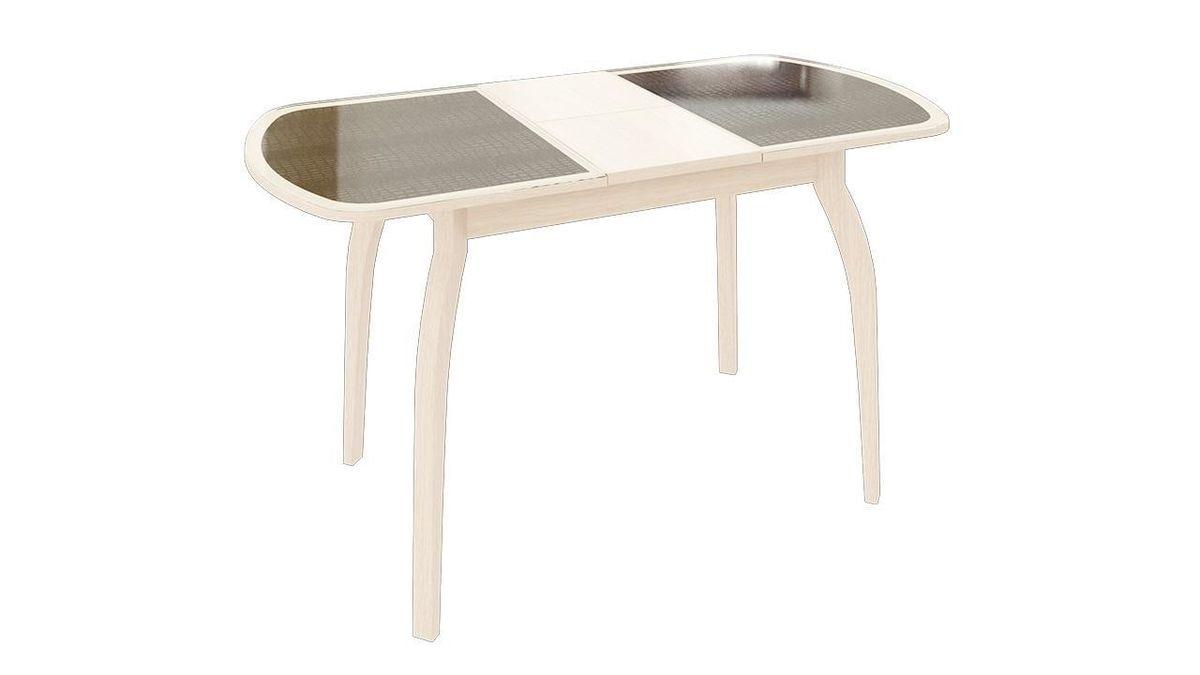 Обеденный стол ТриЯ Ницца 2 раздвижной на деревянных ножках - фото 15