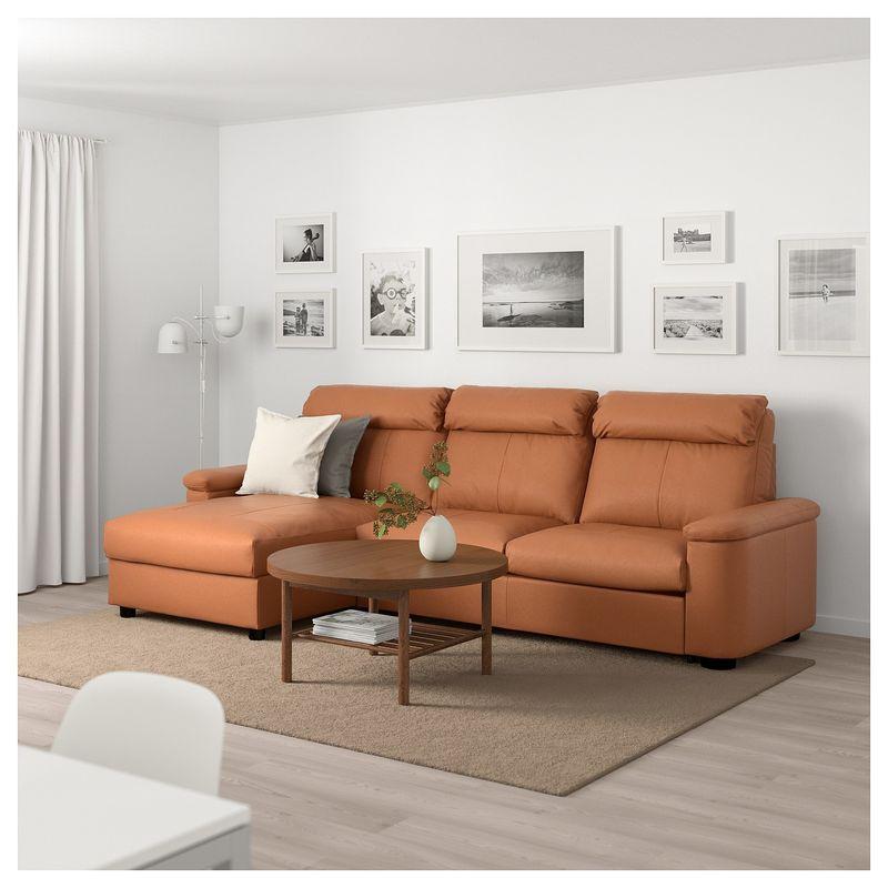 Диван IKEA Лидгульт золотисто-коричневый [692.660.83] - фото 2