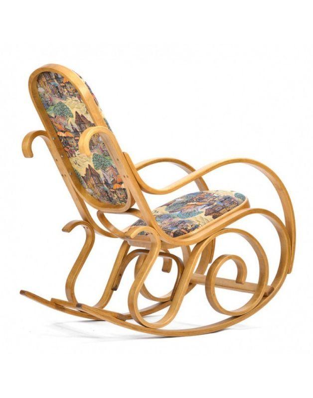 Кресло Impex Лондон светлый орех (Городок) - фото 4