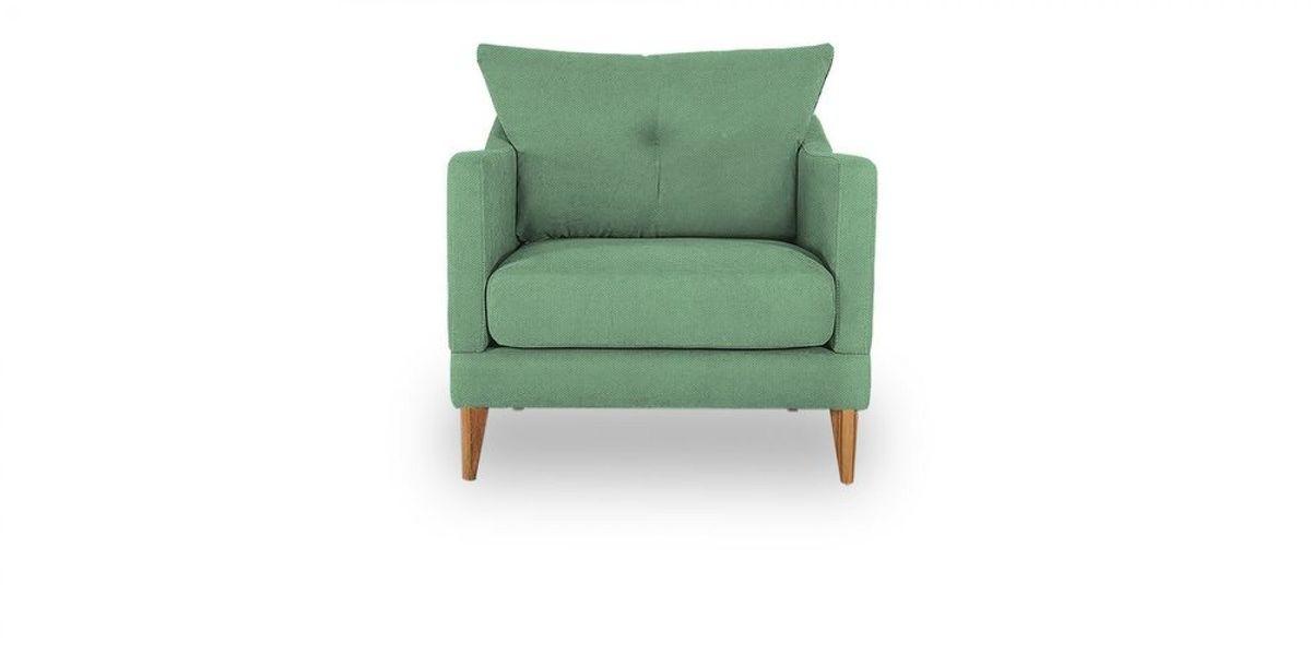 Кресло WOWIN Полар (Мятная рогожка) - фото 2