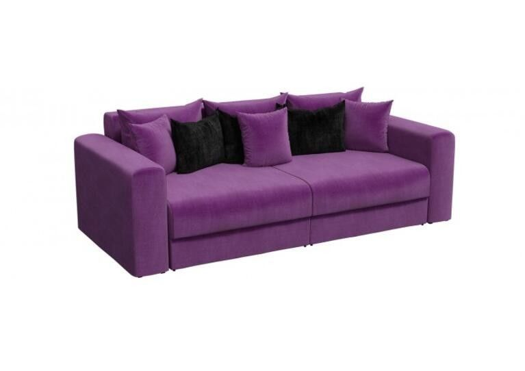 Диван Craftmebel прямой Мэдисон фиолетовый вельвет - фото 1