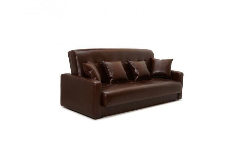 Диван Craftmebel Аккорд коричневая экокожа - фото 4