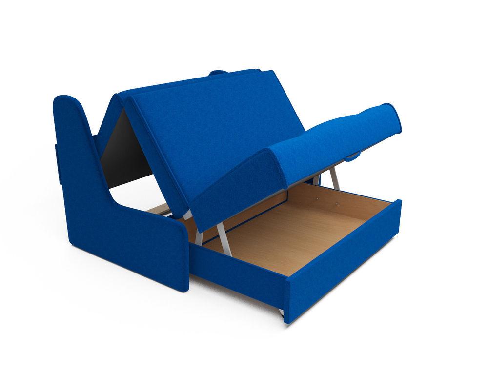 Диван Мебель-АРС Аккордеон №2 синий (140х195) - фото 5