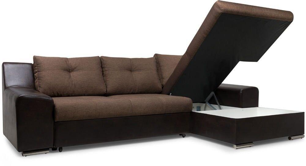 Диван Woodcraft Угловой Мидгард Textile Brown (уцененный) - фото 6