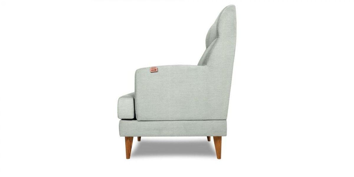 Кресло WOWIN Айленд (Пастельно-голубая рогожка) - фото 4