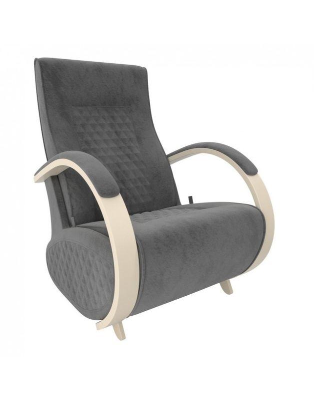 Кресло Impex Balance-3 Verona  сливочный (Antrazite grey) - фото 2