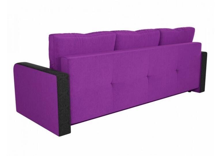 Диван Craftmebel Ник-3 фиолетовый вельвет - фото 2