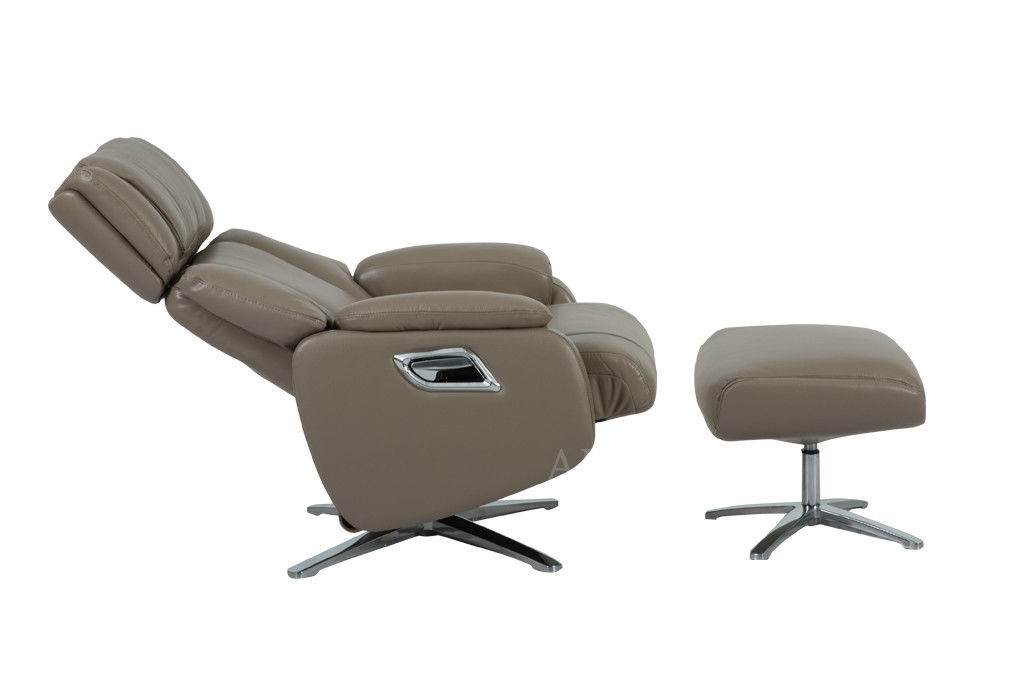 Кресло Arimax Dr Max DM02009 (Кофе с молоком) с подставкой для ног - фото 3