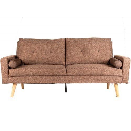 Диван Альта Мебель Bjorn (Бьёрн) светло-коричневый - фото 1