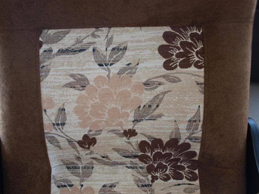 Кресло Бастион 2 Pearl 108 цветы, с подножкой - фото 3