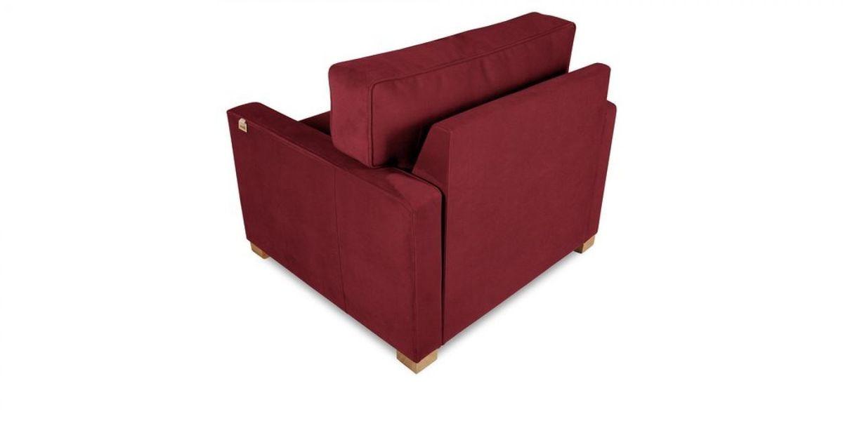 Кресло WOWIN Табу (Бордовый велюр) - фото 4