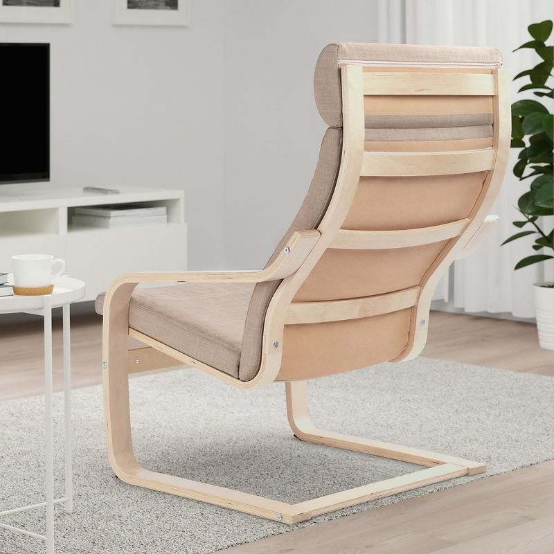 Кресло IKEA Поэнг 993.027.96 - фото 2