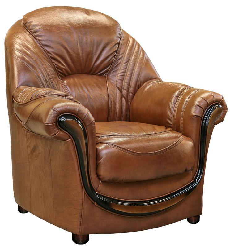 Кресло Пинскдрев Дельта (12) натуральная кожа - фото 5