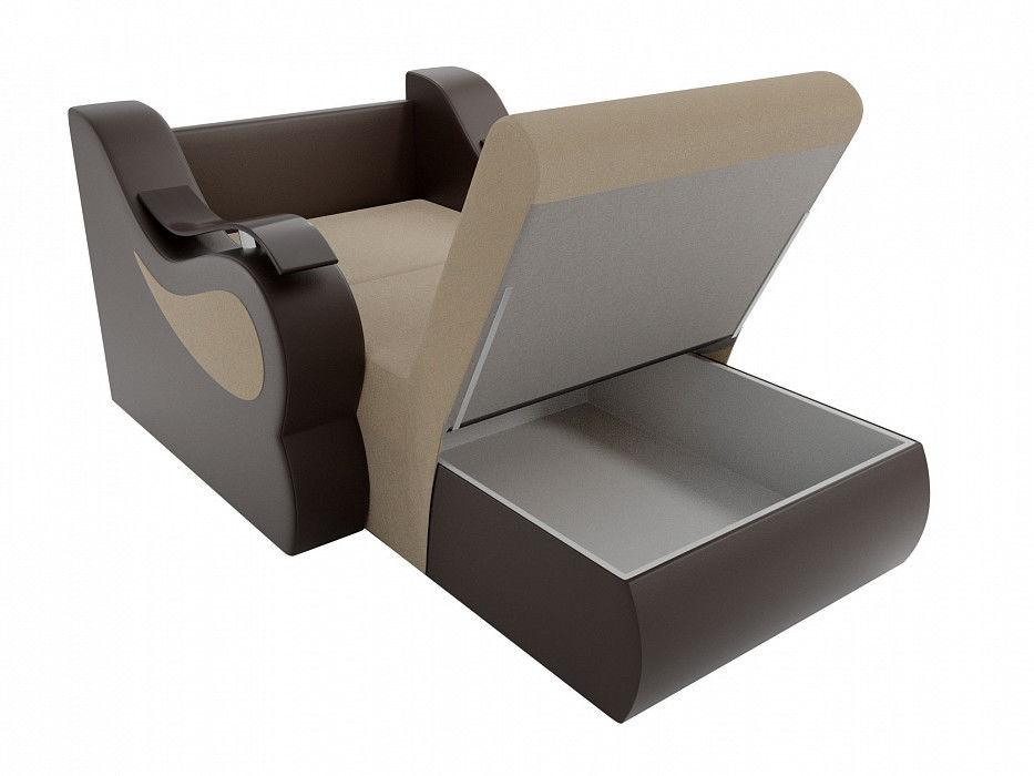 Кресло ЛигаДиванов Меркурий (100682) рогожка/экокожа - фото 4