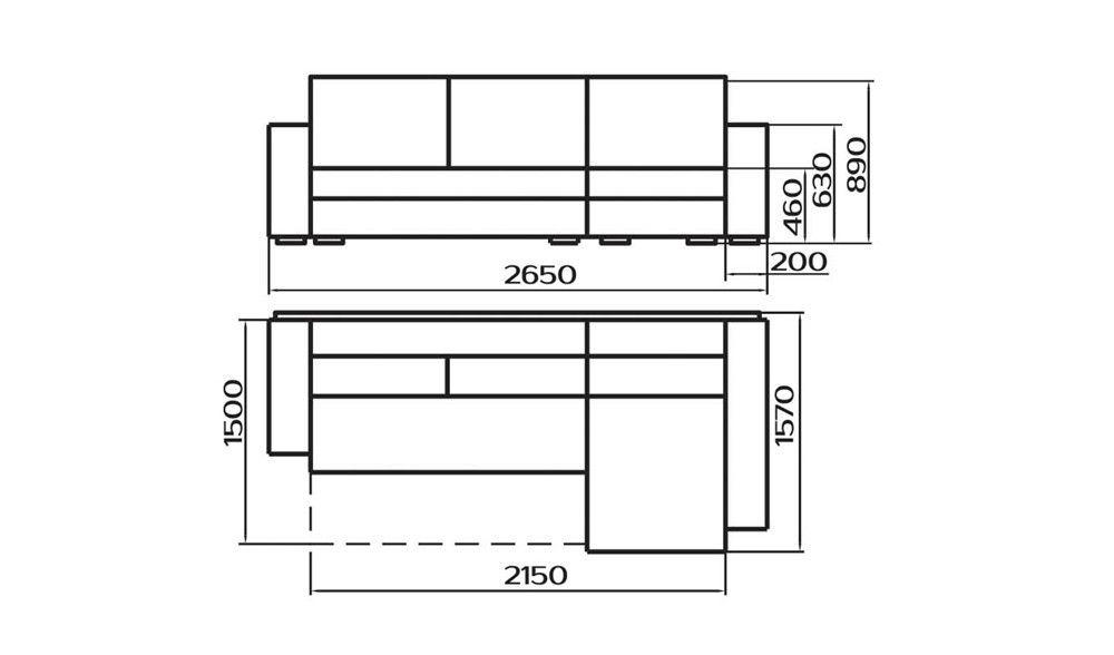 Диван Лама-мебель Пингвин-6 (угловой) - фото 5