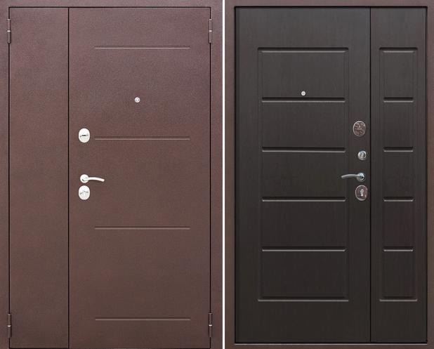 Входная дверь Гарда 7.5 Гарда (венге) - фото 1