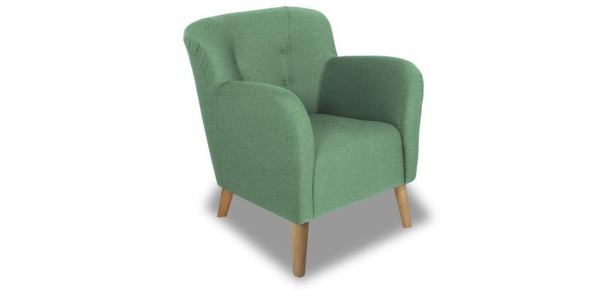 Кресло WOWIN Ингрид (Мятная рогожка) - фото 1