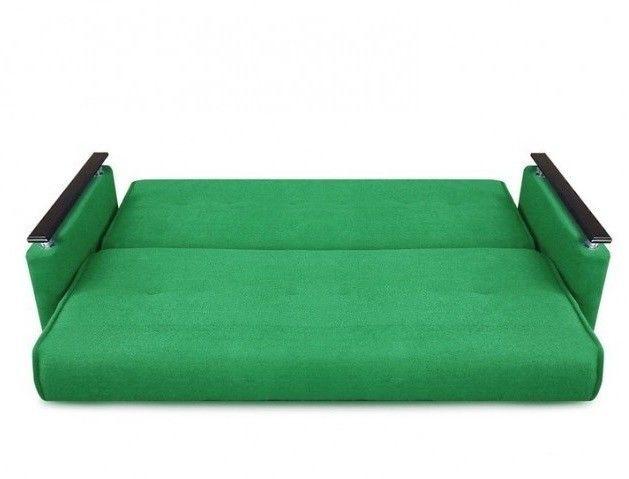 Диван Луховицкая мебельная фабрика Милан Люкс (Астра зеленый) 120x190 - фото 3