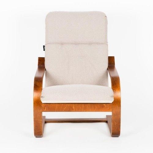 Кресло Greentree Сайма вишня/ткань Миндаль - фото 2