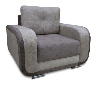 Кресло Экомебель Милан ПР 5.2 без механизма (ткань 2) модель 3 - фото 1