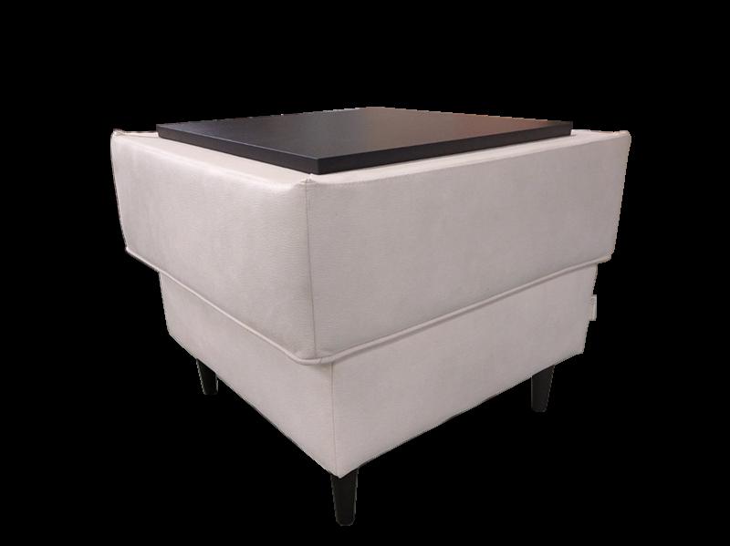 Пуфик Виктория Мебель Ника ПД3 С 357 со столиком - фото 1