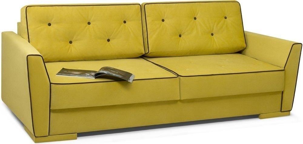 Диван Woodcraft Милан 150 Velvet Yellow - фото 2
