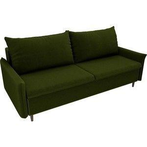 Диван ЛигаДиванов Хьюстон микровельвет зеленый - фото 2