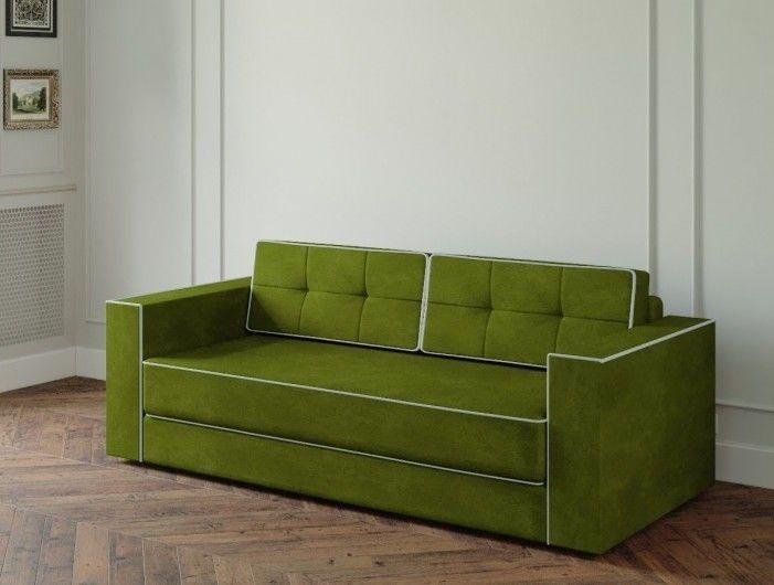 Диван Настоящая мебель Ванкувер Модерн (модель: 00-000034539) зелёный - фото 1