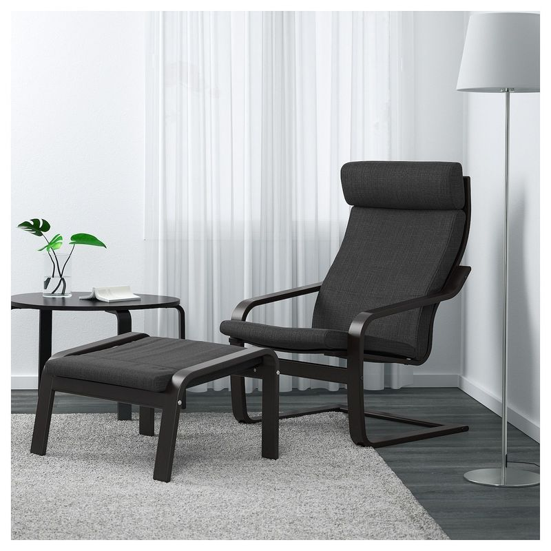 Кресло IKEA Поэнг 292.514.94 - фото 3