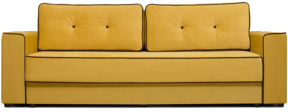 Диван Woodcraft Менли НПБ Velvet Yellow - фото 1
