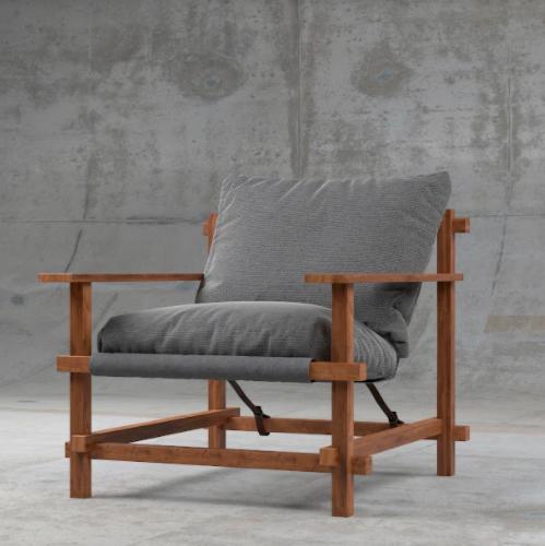 Кресло ZDreva Patio 65x75x45 - фото 1