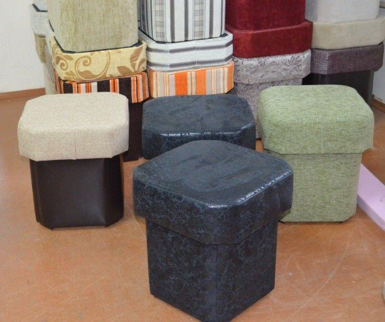 Пуфик Вливск-Мебель восьмигранный - фото 3