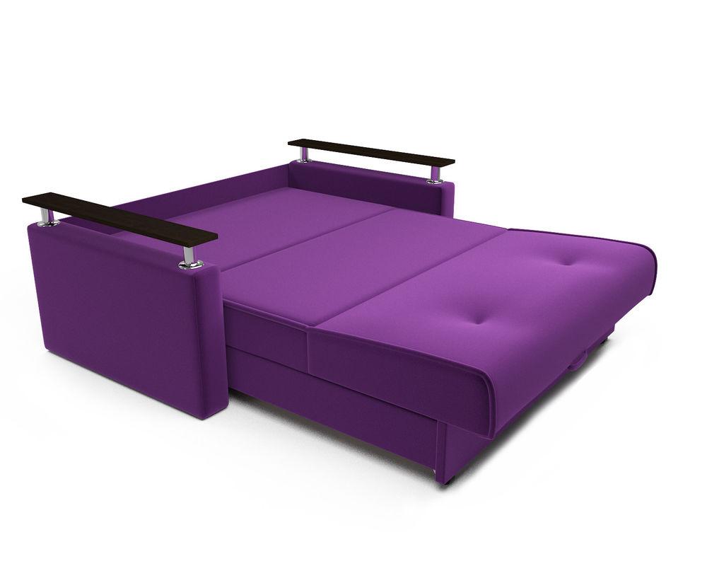 Диван Мебель-АРС Шарм — Фиолет (140х195) - фото 6