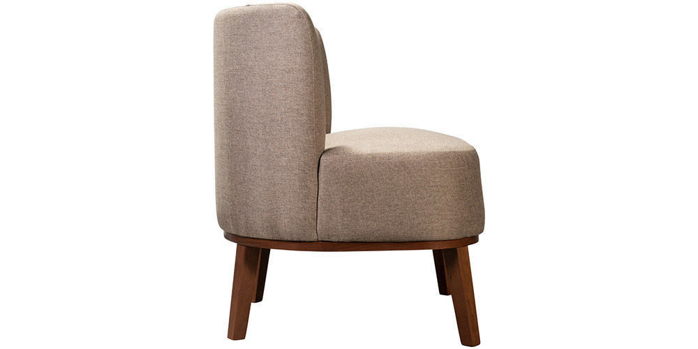 Кресло Woodcraft Шафран Textile Brown - фото 3