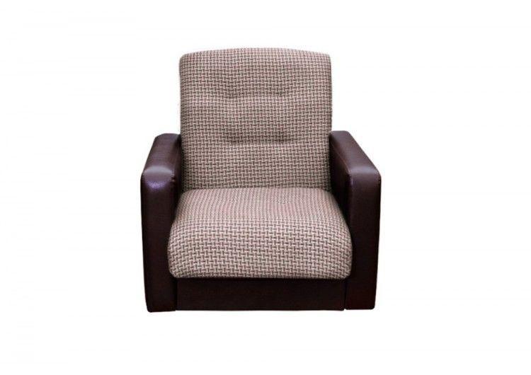 Кресло Луховицкая мебельная фабрика Лондон корфу микс коричневый - фото 1