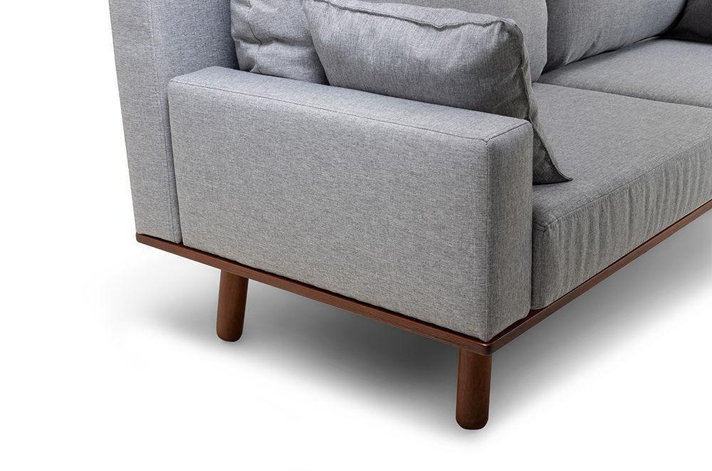 Диван Woodcraft Миннесота Textile Grey - фото 9