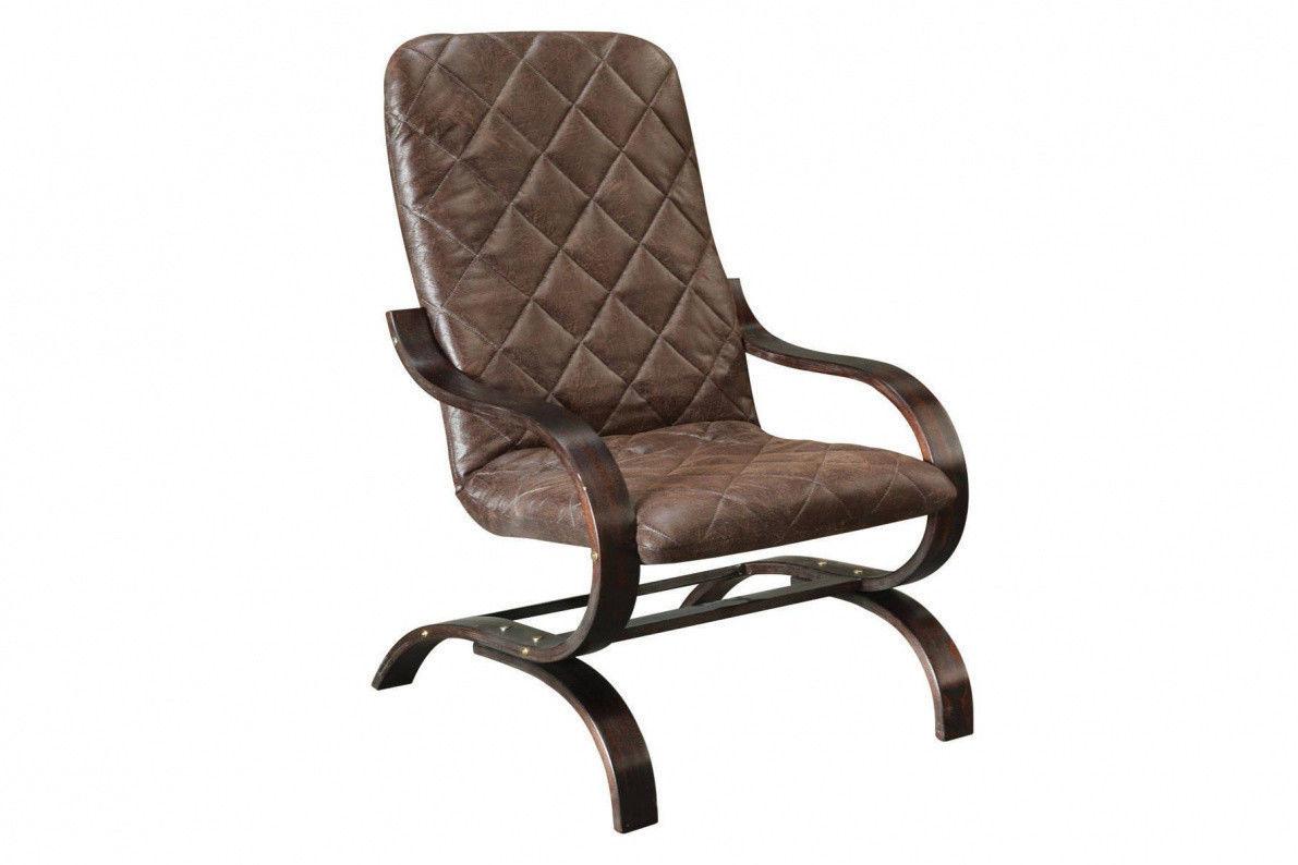 Кресло Stolline Лидер коричневое (2013000800058) - фото 1