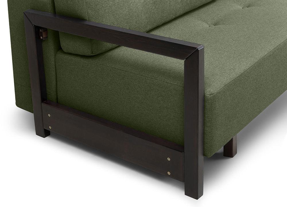 Диван Woodcraft Осхен Textile Green - фото 11